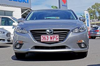 2016 Mazda 3 BM5478 Maxx SKYACTIV-Drive Aluminium 6 Speed Sports Automatic Hatchback.