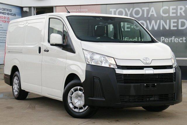 Pre-Owned Toyota HiAce GDH300R LWB Guildford, 2020 Toyota HiAce GDH300R LWB French Vanilla 6 Speed Automatic Van