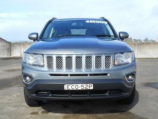 2013 Jeep Compass MK MY13 Limited CVT Auto Stick Grey 6 Speed Constant Variable Wagon