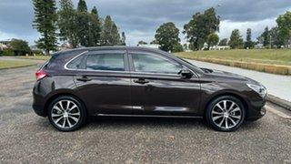 2017 Hyundai i30 PD MY18 Premium D-CT Bronze 7 Speed Sports Automatic Dual Clutch Hatchback