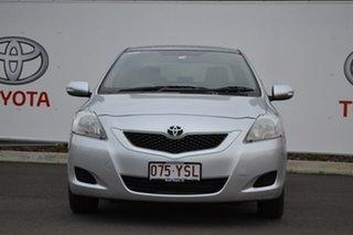 2015 Toyota Yaris NCP93R 10 Upgrade YRS Silver Pearl 4 Speed Automatic Sedan.