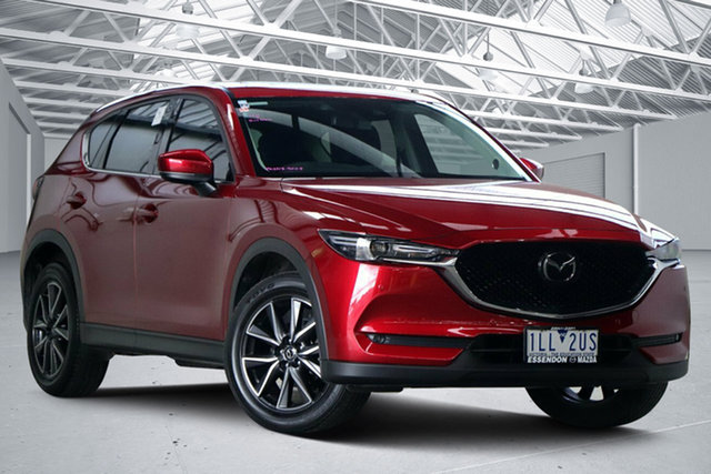 Used Mazda CX-5 MY17 Akera (4x4) Altona North, 2017 Mazda CX-5 MY17 Akera (4x4) Red 6 Speed Automatic Wagon