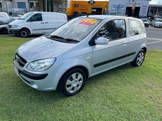 2009 Hyundai Getz TB MY09 S Silver 5 Speed Manual Hatchback