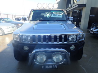 2008 Hummer H3 Adventure Silver 5 Speed Manual Wagon.