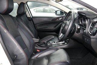 2015 Mazda 3 BM Touring White 6 Speed Automatic Sedan