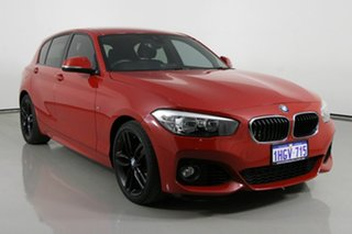 2017 BMW 118i F40 M Sport Red 8 Speed Automatic Hatchback.