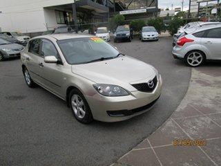 2008 Mazda 3 BK MY06 Upgrade Neo Gold 5 Speed Manual Hatchback.