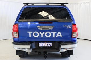 2016 Toyota Hilux GUN126R SR5 Double Cab Blue 6 Speed Manual Utility