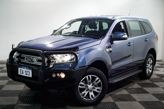 Used Ford Everest UA Trend Edgewater, 2015 Ford Everest UA Trend Blue 6 Speed Sports Automatic SUV