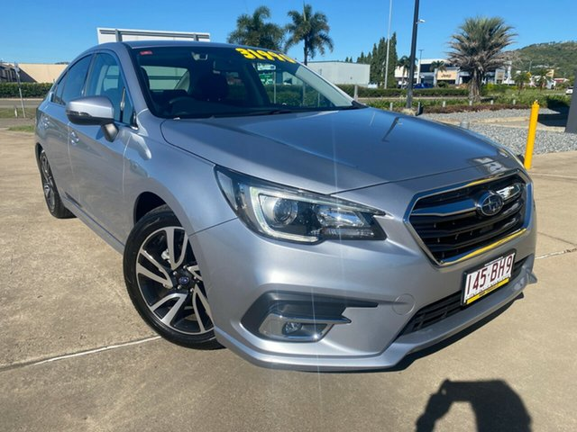 Used Subaru Liberty B6 MY19 2.5i CVT AWD Premium Townsville, 2019 Subaru Liberty B6 MY19 2.5i CVT AWD Premium Silver/130919 6 Speed Constant Variable Sedan