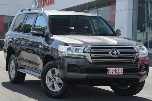 Pre-Owned Toyota Landcruiser VDJ200R GXL Woolloongabba, 2017 Toyota Landcruiser VDJ200R GXL Graphite Grey 6 Speed Sports Automatic Wagon