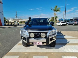 2016 Mazda BT-50 UR0YG1 XT Freestyle Grey 6 Speed Sports Automatic Cab Chassis