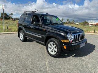 2005 Jeep Cherokee KJ MY05 Upgrade Limited (4x4) Black 4 Speed Automatic Wagon.