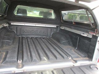 2009 Nissan Navara D40 Turbo ST-X Silver Automatic Utility