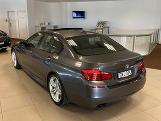 2015 BMW 5 Series F10 LCI 528i Steptronic M Sport Mineral Grey 8 Speed Sports Automatic Sedan