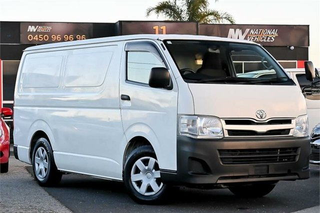 Used Toyota HiAce DX Cheltenham, 2012 Toyota HiAce KDH201V DX White Automatic Refrigerated Van
