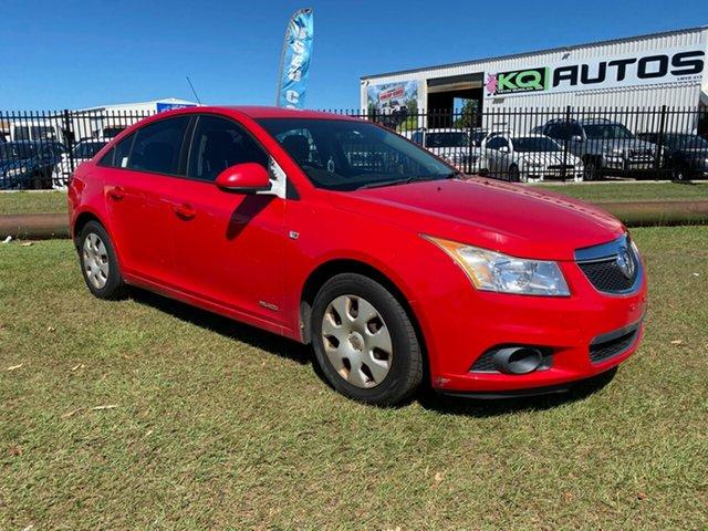 Used Holden Cruze JH Series II MY11 CD Berrimah, 2011 Holden Cruze JH Series II MY11 CD Red 6 Speed Sports Automatic Sedan