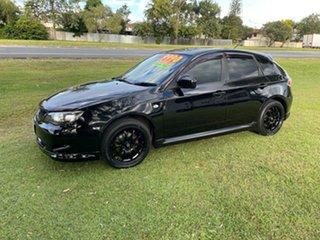 2007 Subaru Impreza G3 MY08 RS AWD Black 5 Speed Manual Hatchback