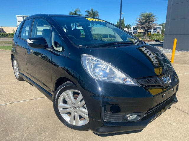 Used Honda Jazz GE MY12 Vibe-S Townsville, 2012 Honda Jazz GE MY12 Vibe-S Black/311012 5 Speed Automatic Hatchback