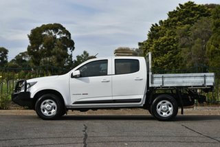 2017 Holden Colorado RG MY17 LS Crew Cab White 6 Speed Sports Automatic Cab Chassis