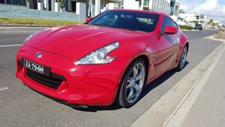 2010 Nissan 370Z Z34 MY10 Red 7 Speed Automatic Coupe