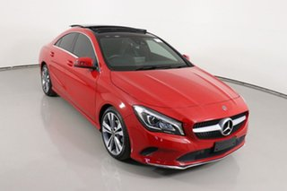 2018 Mercedes-Benz CLA180 117 MY18.5 Red 7 Speed Automatic Coupe