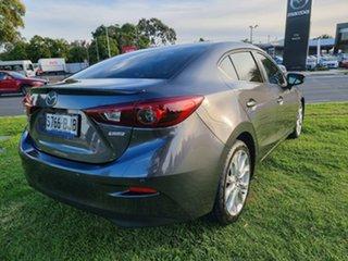 2015 Mazda 3 BM5238 SP25 SKYACTIV-Drive GT Meteor Grey 6 Speed Sports Automatic Sedan.