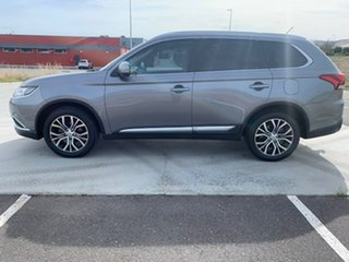 2016 Mitsubishi Outlander ZK MY17 LS 4WD Safety Pack Grey 6 Speed Constant Variable Wagon