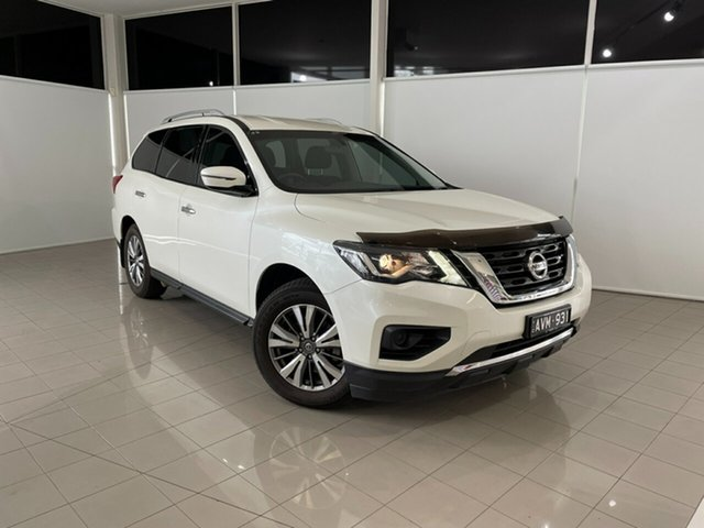 Used Nissan Pathfinder R52 Series II MY17 ST X-tronic 4WD Deer Park, 2017 Nissan Pathfinder R52 Series II MY17 ST X-tronic 4WD White 1 Speed Constant Variable Wagon