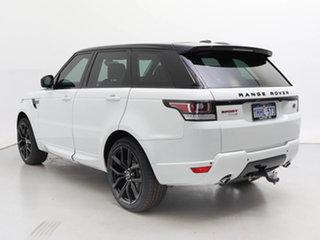 2014 Land Rover Range Rover LW Sport 3.0 TDV6 SE White 8 Speed Automatic Wagon