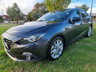 2015 Mazda 3 BM5238 SP25 SKYACTIV-Drive GT Meteor Grey 6 Speed Sports Automatic Sedan