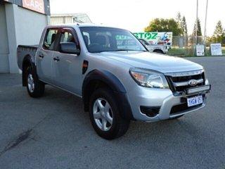 2011 Ford Ranger PK XL Crew Cab 4x2 Hi-Rider Silver 5 Speed Automatic Utility