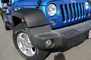 2016 Jeep Wrangler JK MY2016 Unlimited Sport Hydro Blue/matching 5 Speed Automatic Softtop.