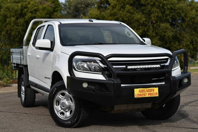Used Holden Colorado RG MY17 LS Crew Cab Enfield, 2017 Holden Colorado RG MY17 LS Crew Cab White 6 Speed Sports Automatic Cab Chassis