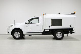 2013 Holden Colorado RG LX (4x4) White 5 Speed Manual Cab Chassis