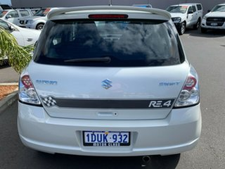 2009 Suzuki Swift RS415 RE4 White 5 Speed Manual Hatchback.