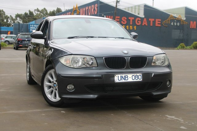 Used BMW 118i E87 West Footscray, 2007 BMW 118i E87 6 Speed Automatic Hatchback