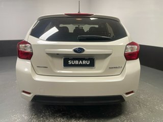 2016 Subaru Impreza G4 MY16 2.0i Lineartronic AWD Premium White 6 Speed Constant Variable Hatchback