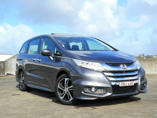 Used Honda Odyssey RC MY15 VTi Brookvale, 2015 Honda Odyssey RC MY15 VTi Grey 7 Speed Constant Variable Wagon