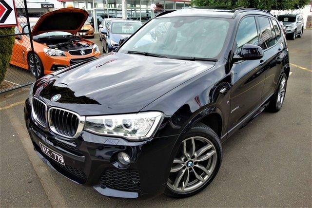 Used BMW X3 F25 LCI xDrive20d Steptronic Seaford, 2016 BMW X3 F25 LCI xDrive20d Steptronic Black 8 Speed Automatic Wagon
