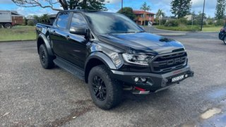 2018 Ford Ranger PX MkIII 2019.00MY Raptor Shadow Black 10 Speed Sports Automatic Utility.
