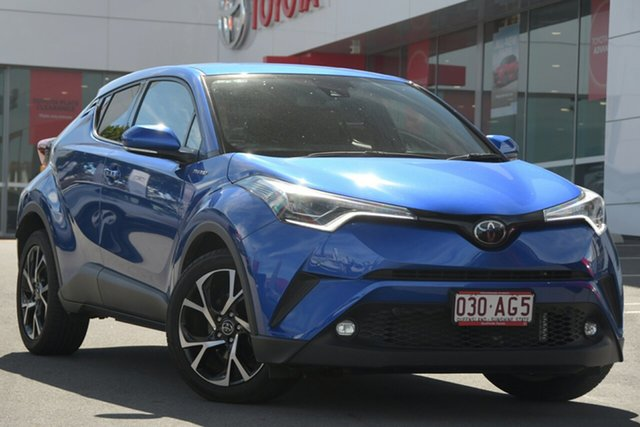 Pre-Owned Toyota C-HR NGX10R Koba S-CVT 2WD Woolloongabba, 2019 Toyota C-HR NGX10R Koba S-CVT 2WD Nebula Blue 7 Speed Constant Variable Wagon