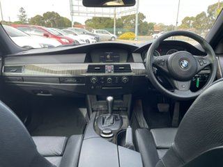 2006 BMW 5 Series E60 530i Steptronic Blue 6 Speed Sports Automatic Sedan