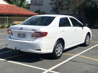 2010 Toyota Corolla ZRE152R Ascent White 4 Speed Automatic Sedan.