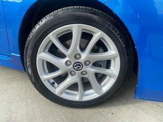 2013 Mazda 3 BL10L2 MY13 SP25 Blue 6 Speed Manual Hatchback.