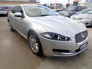 2012 Jaguar XF MY13 2.0 Premium Luxury Silver Ash 8 Speed Automatic Sedan.