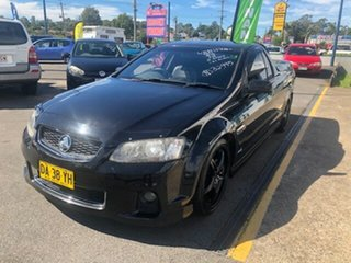 2012 Holden Commodore SS Thunder Black 5 Speed Manual Utility.