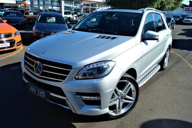 Used Mercedes-Benz M-Class W166 ML350 BlueTEC 7G-Tronic + Seaford, 2013 Mercedes-Benz M-Class W166 ML350 BlueTEC 7G-Tronic + Silver 7 Speed Sports Automatic Wagon