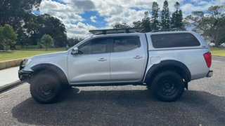 2015 Nissan Navara D23 ST-X Silver 6 Speed Manual Utility