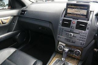 2009 Mercedes-Benz C-Class W204 C63 AMG Black 7 Speed Sports Automatic Sedan
